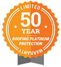 50 Year Roofing Platinum Protection Limited Warranty